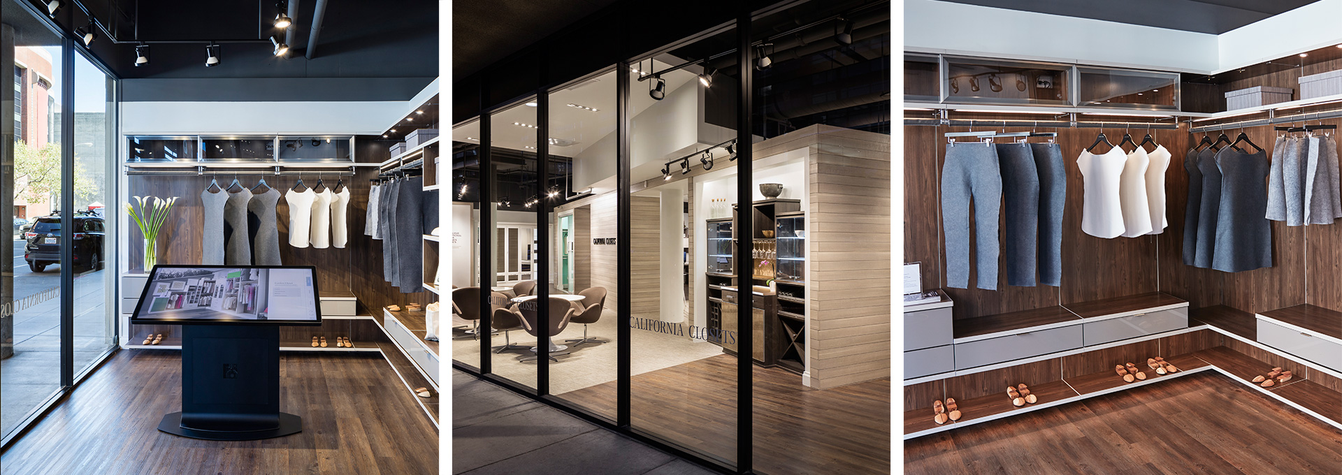 California Closets Canadian Showroom