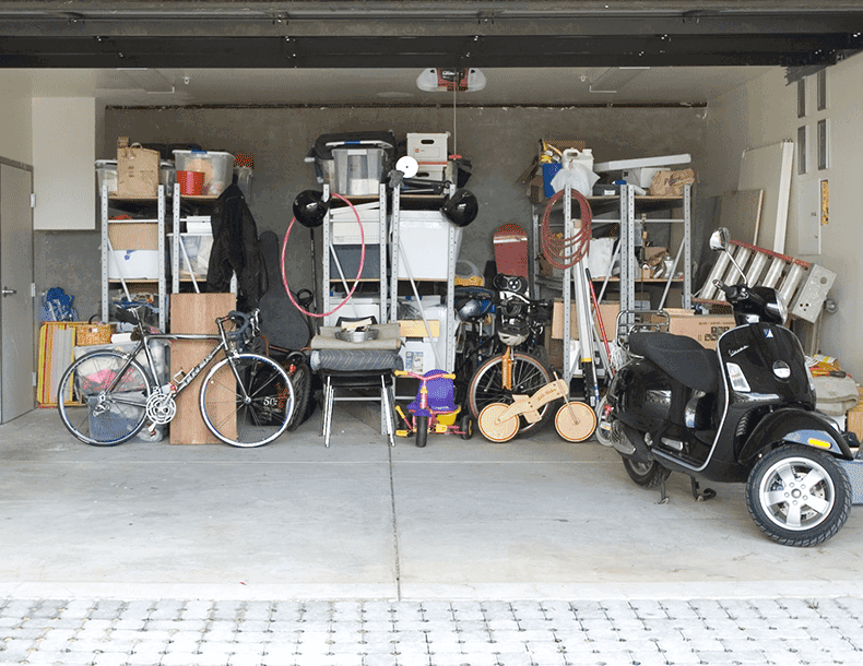 California Closets Garage Redesign Before Image