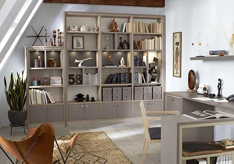 California Closets Classic Office Design Cashmere