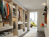 California Closets Spotlight Wardrobe
