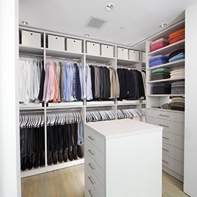 California Closets Stylist Walk In