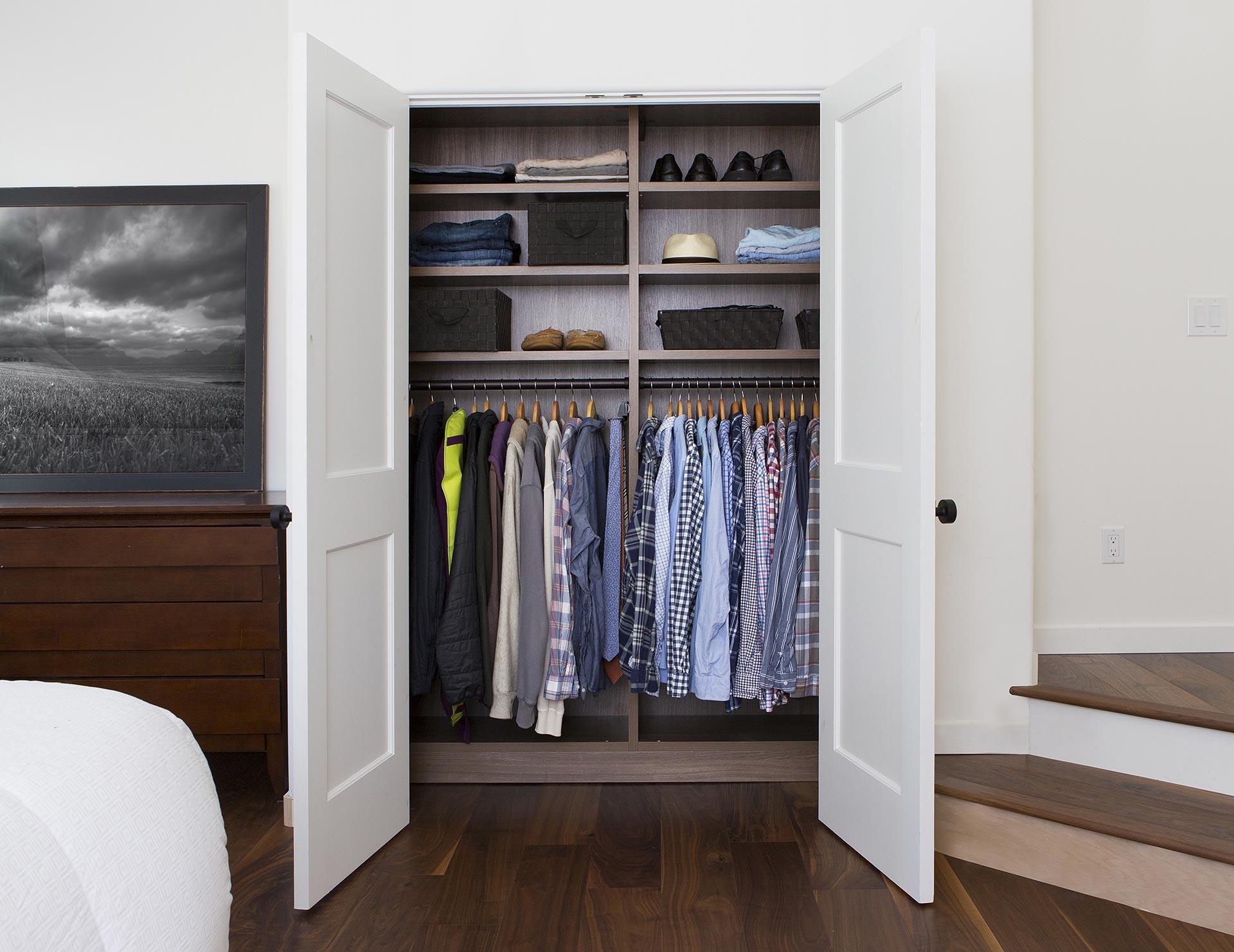 Reach In Closet Ideas By California Closets