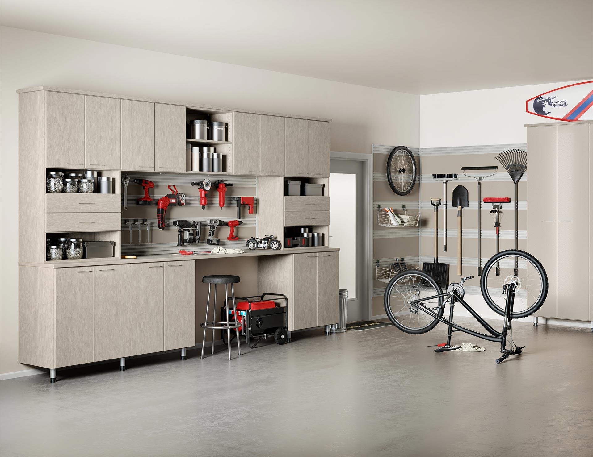 Armoires De Rangement Pour Le Garage California Closets
