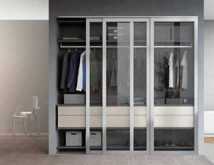 Click to view MILANO REACH-IN W/DOORS