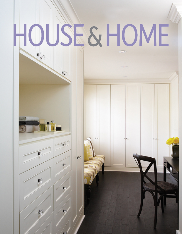California Closets House & Home Cover