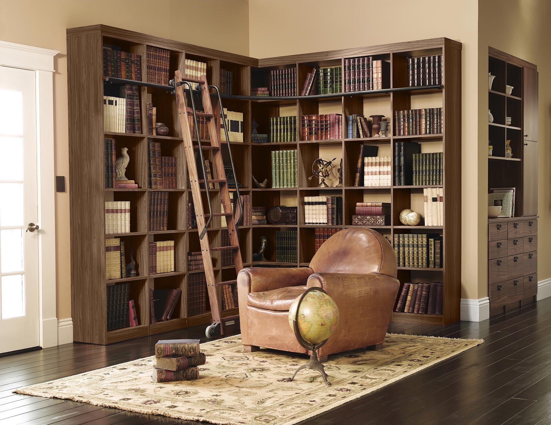 Pleasing Library Bookshelves Custom Library Shelving California Interior Design Ideas Gentotryabchikinfo