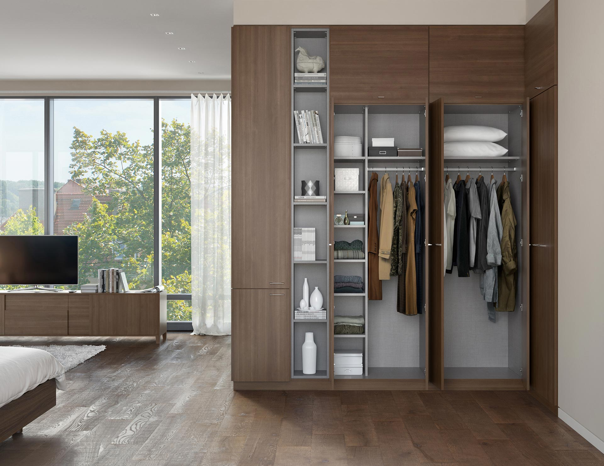 California Closets - Soho Custom Built in Wardrobe Storage System