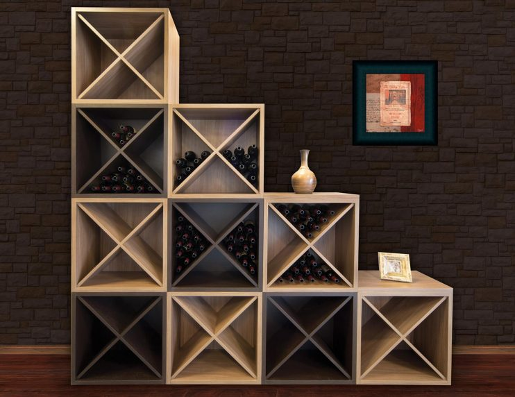 STEPPED WINE STORAGE