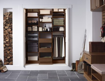 Click to view BECKER ENTRYWAY CLOSET