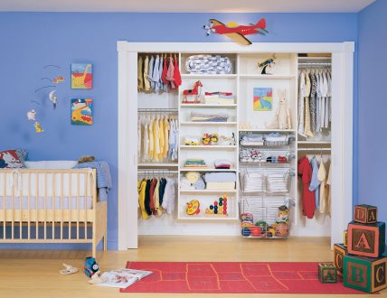 Click to view CLASSIC NURSERY CLOSET