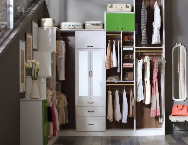 California Closets - Garden Walk in Closet Storage Solution