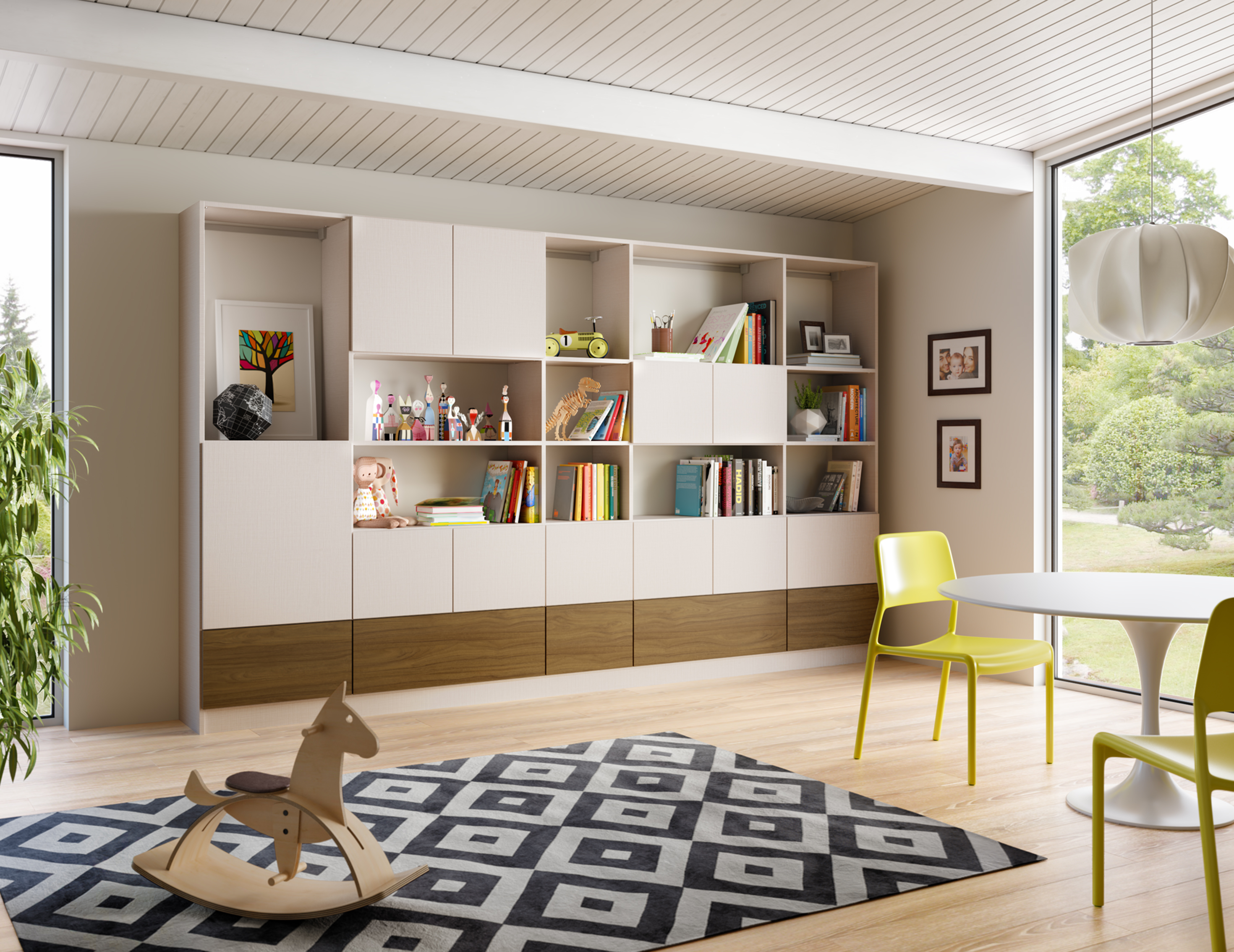 Family Room Storage Living Room Cabinets California Closets