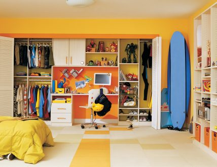 Click to view TRANSITIONAL KIDS ROOM