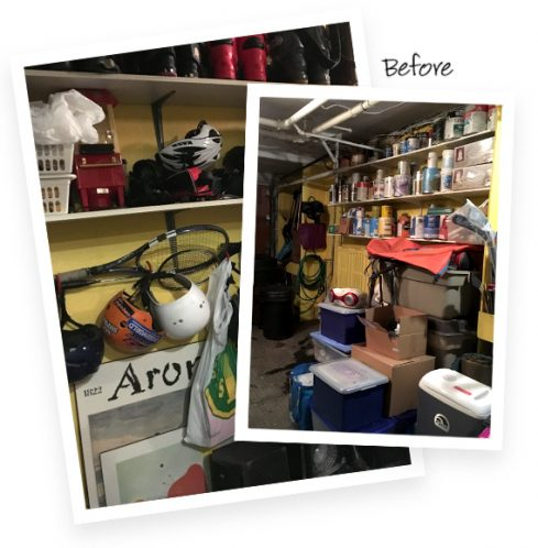 Client Stories Clearing the Way California Closets
