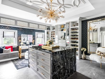 California Closets Luxury Walk in Closet
