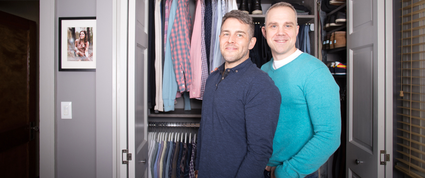 Modernizing a 100-Year-Old Closet:  Brad & Jamie's Story