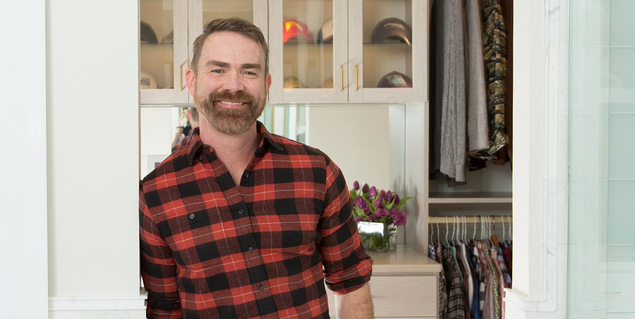 A Handsome Closet for a Dentist and His Dog: Davis' Story