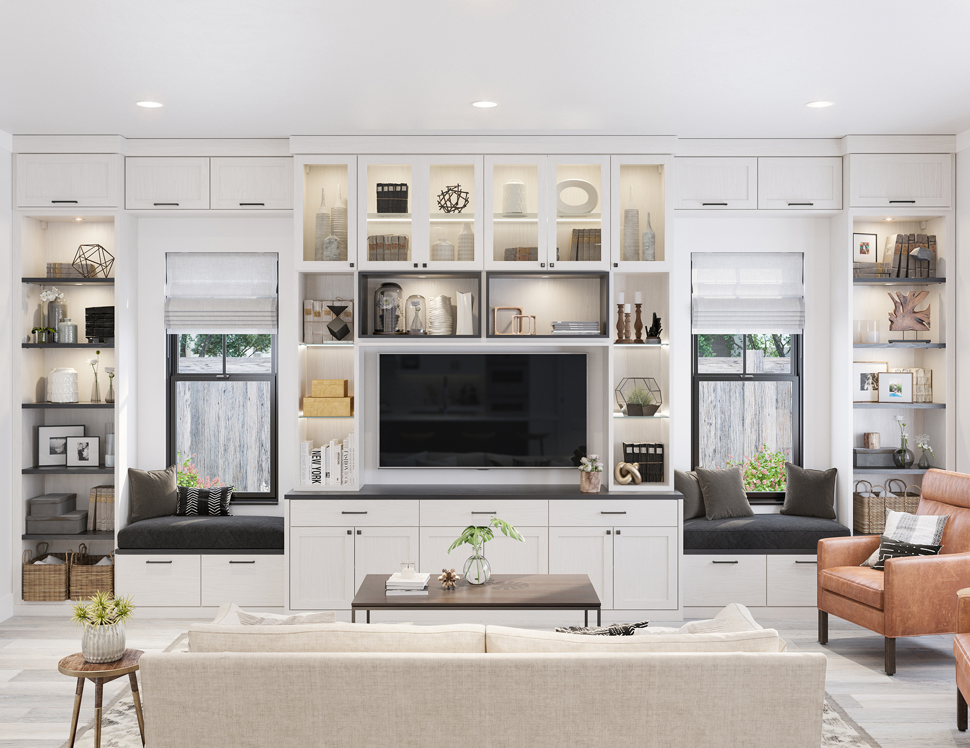 Groovy Family Room Storage Living Room Cabinets California Closets Download Free Architecture Designs Embacsunscenecom