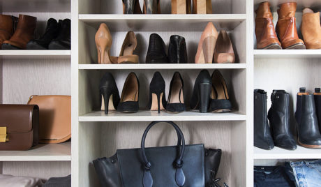 A Modern Closet in a Vintage Victorian for Blogger Erin Hiemstra