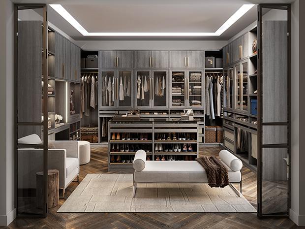 Paxton Walk-in Closet
